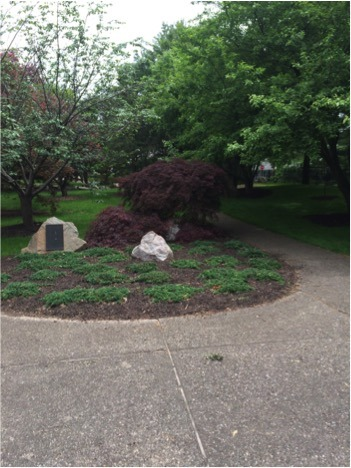 Shiojiri Niwa is a Japanese-style garden located in Mishawaka, Indiana.