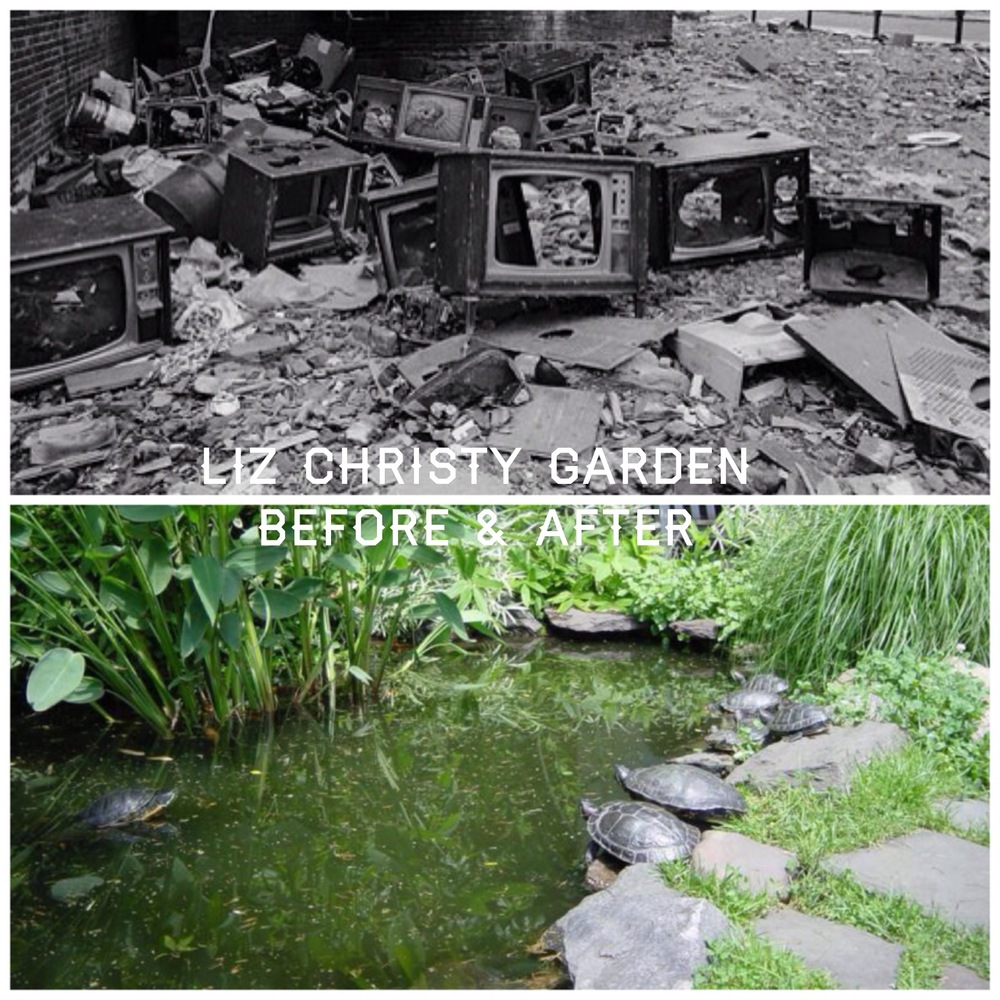 The Liz Christy Community Gardens, past and present
