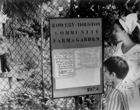 The Bowery Houston Community Farm & Garden