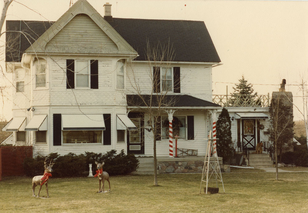The Barg family settled on the homestead in the 1860s.