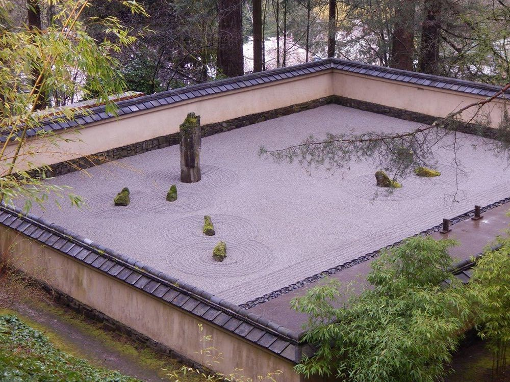 The Sand and Stone Garden