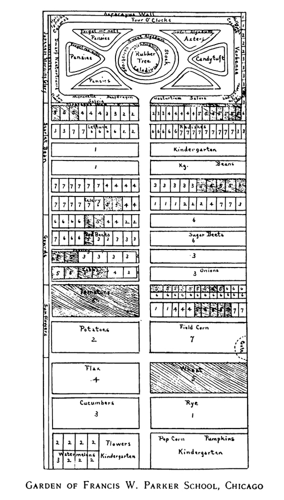 Garden plan chicago from Among school gardens 1911.jpg