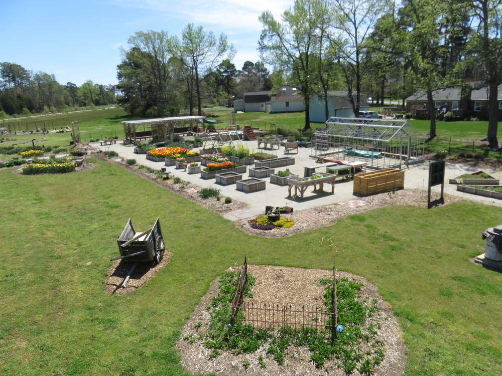 The Poquoson Learning Garden at the Poquoson Museum