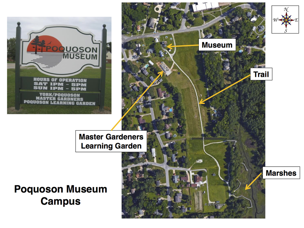 Poquoson Museum map