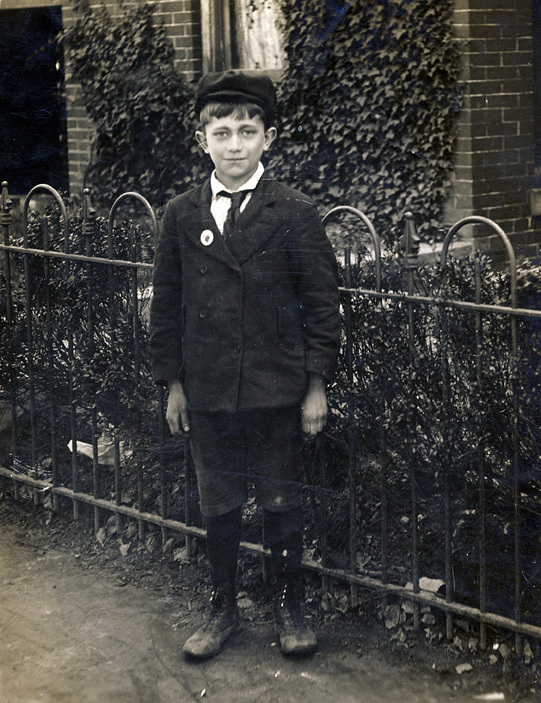 My grandfather Harry Sr. circa 1908 in Washington, D.C. This photograph was taken around the time his father died, when he was about ten years old.