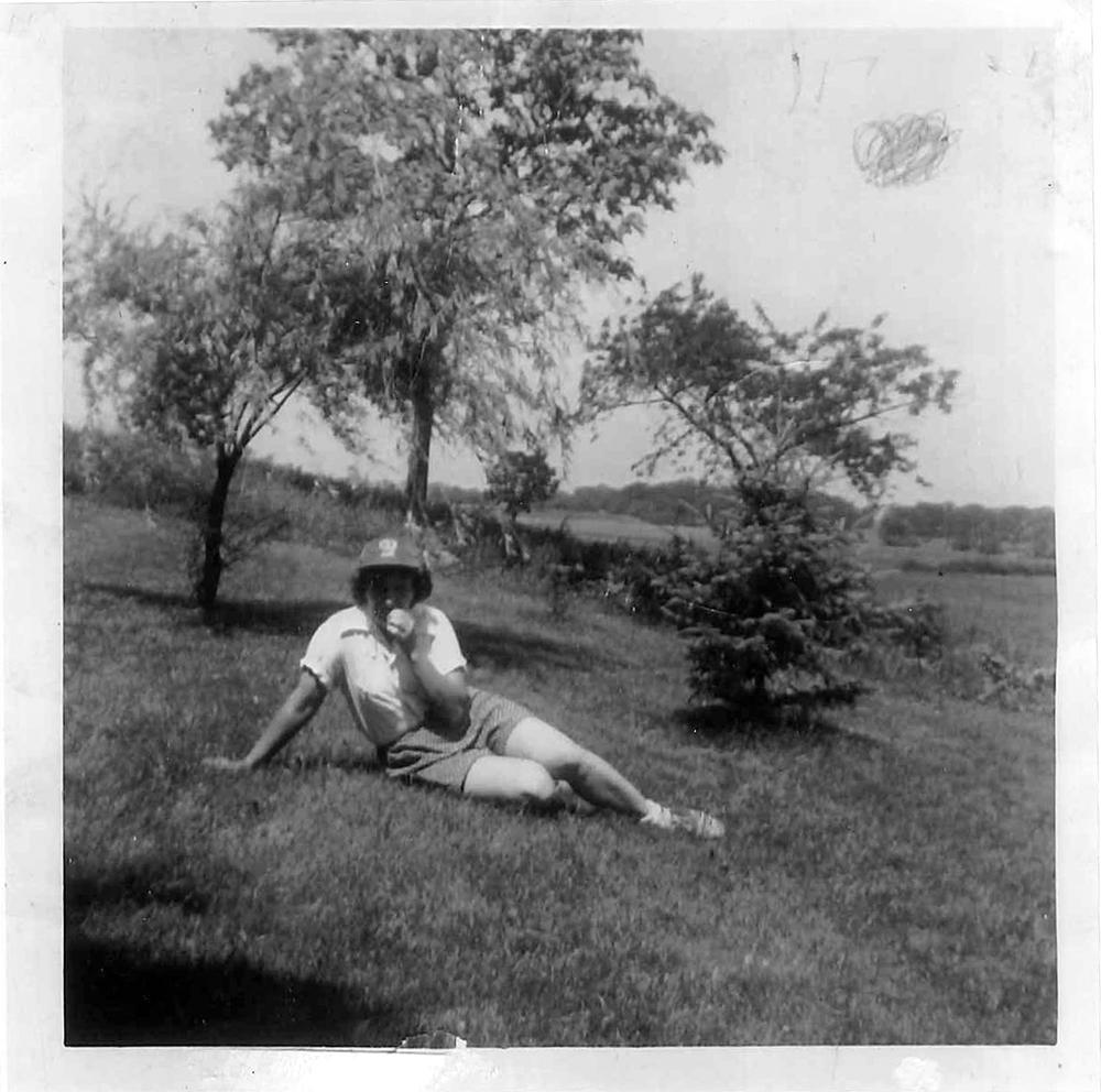 Olivia, summer 1953