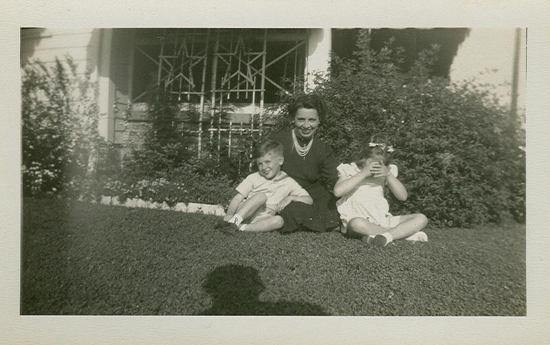 In Beatrice's garden
