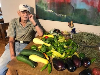Zucchini, eggplant, summer squash