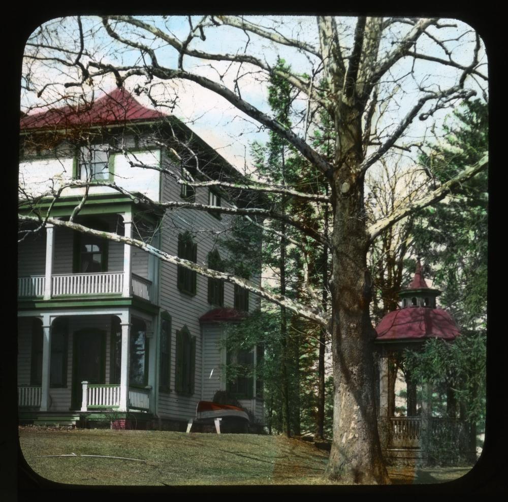 House and gazebo 1912