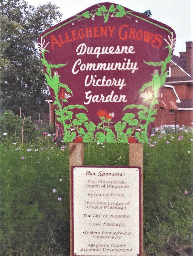 The Duquesne Community Victory Garden
