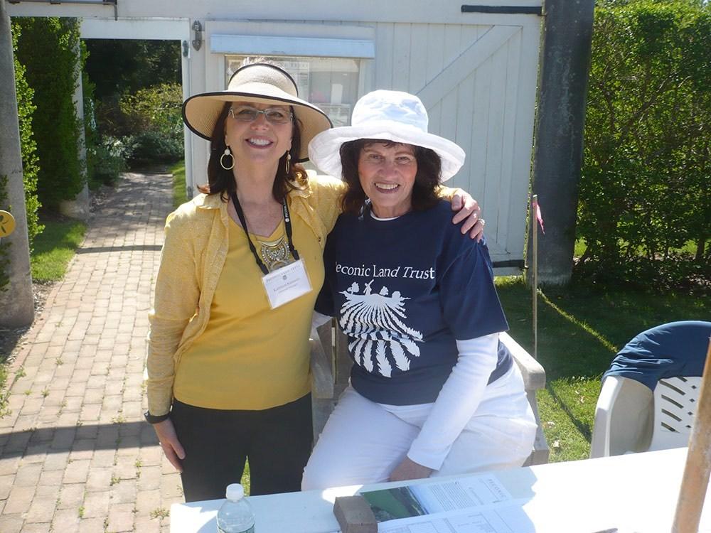 Kathy Kennedy and Linda Massis