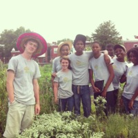 Every summer Common Good City Farm welcomes a new group of local teens to participant in their six-week, paid Youth Employment Program. Pictured here are just a few of the teens that contributed to this story, July 2013.