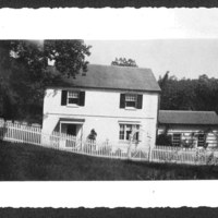 Linda's house in the 1940s