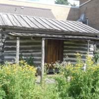 Gannon cabin and kitchen garden
